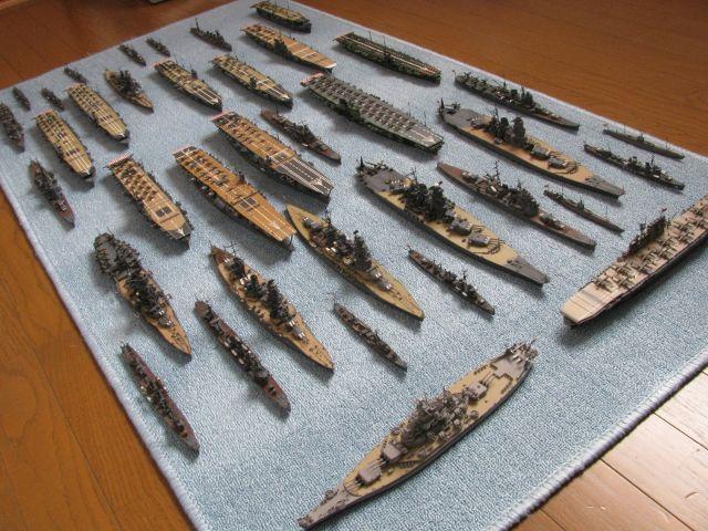 わが家の連合艦隊