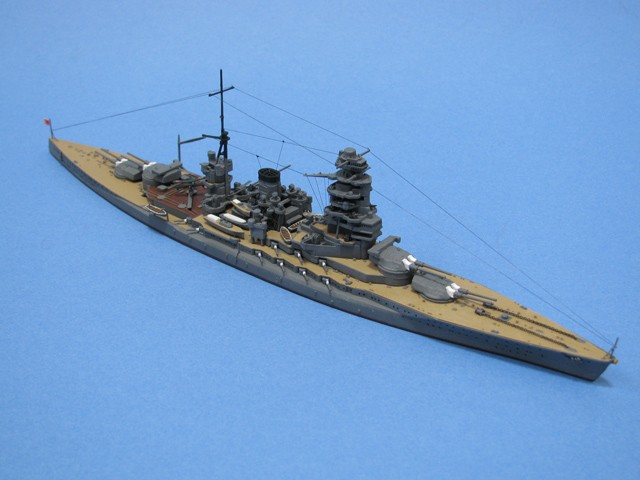 戦艦陸奥完成写真