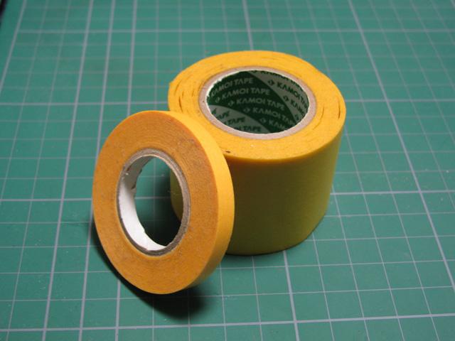 幅広のマスキングテープ