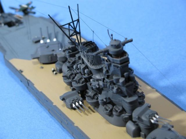 武蔵艦上構造物