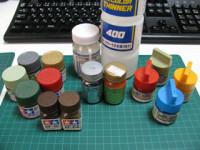 使用する塗料