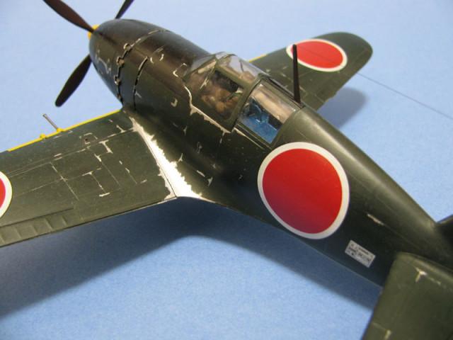 雷電21式搭乗部分接写